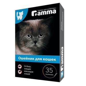 Ошейник для кошек Гамма, размер 35см.