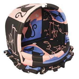 Домик для кошек и собак Гамма Эстрада M, размер 35х40х30см., цвета в ассортименте