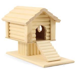 Домик для грызунов Гамма, размер 25х12х18см.