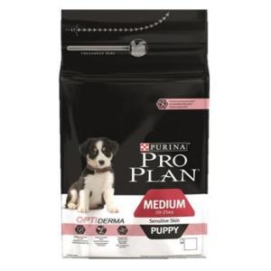 Корм для щенков Pro Plan Puppy Medium Sensitive, 1.5 кг, лосось с рисом