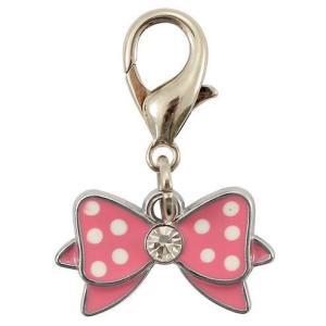 Подвеска для собак Triol Розовый бантик , розовый