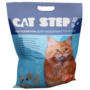Наполнитель для кошачьего туалета Cat Step, 7.24 кг