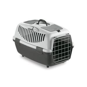 Переноска для собак и кошек Stefanplast Gulliver, размер 2, размер 55х36х35см., серый