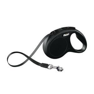 Поводок-рулетка для собак Flexi New Classic S, черный