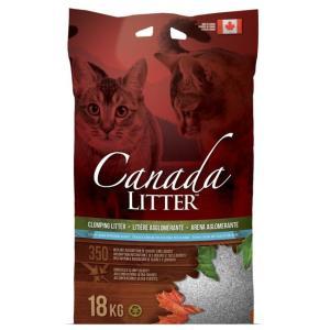 Наполнитель для кошачьего туалета Canada Litter Запах на замке, 18 кг