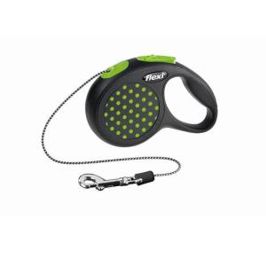 Поводок-рулетка для собак Flexi Design Classic, зеленый