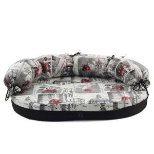 Лежак для собак Гамма Фаворит Мини, размер 1, размер 66х50х8см., цвета в ассортименте