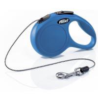 Фотография товара Поводок-рулетка для собак Flexi New Classic XS, синий