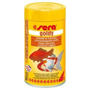 Корм для золотых рыб Sera Goldy, 22 г, 100 мл