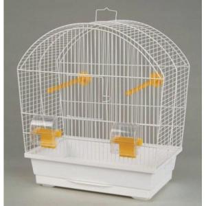 Клетка для птиц Inter-zoo MEGI, размер 43x25x47см., цвета в ассортименте