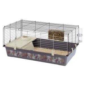 Клетка для кроликов Ferplast Rabbit 100 Dekor, размер 95х57х46см.