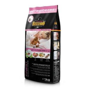 Корм для собак Belcando Finest Grain-Free, 1 кг, ягненок