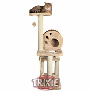 Игровой комплекс с когтеточками для кошек Trixie, размер 40х50х138см., бежевый