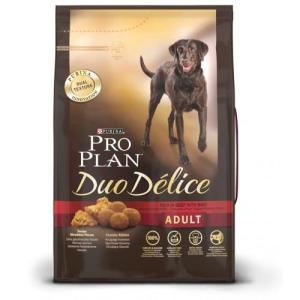 Корм для собак Pro Plan Duo Delice, 10 кг, говядина и рис