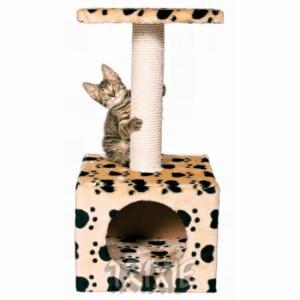 Домик-когтеточка для кошек Trixie Zamora, размер 31x31x61см., бежевый