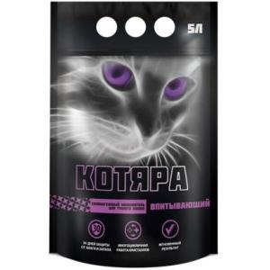 Наполнитель для кошачьего туалета Котяра Силикагелевый, 1.75 кг, 3 л