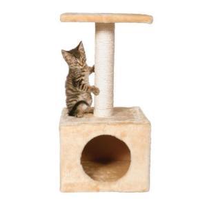 Домик-когтеточка для кошек Trixie Zamora, размер 31x31x61см.