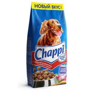Корм для собак Chappi Сытный мясной обед, 15 кг, говядина