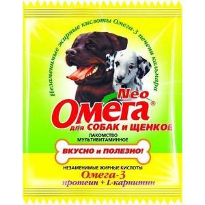 Витамины для собак и щенков Омега