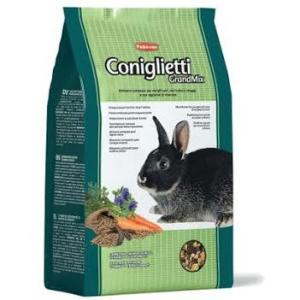 Корм для кроликов Padovan GrandMix Coniglietti, 3 кг, злаки, фрукты, овощи