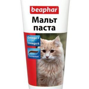 Витамины для кошек Beaphar Malt Paste, 35 г