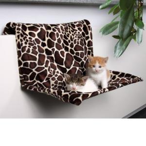 Гамак для кошки Trixie Жираф, размер 48х26х30см.