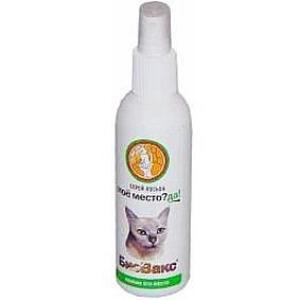 Спрей-лосьон приучающий для кошек Биовакс, 180 мл