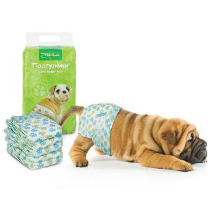 Памперсы для собак и кошек Triol M