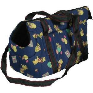 Сумка - переноска для собак и кошек Зооник 22411, размер 44х24х25см.