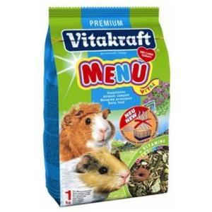 Корм для морских свинок Vitakraft Menu Vital, 1 кг, злаки, семена, фрукты