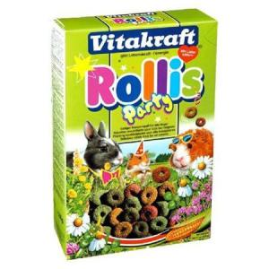 Корм для грызунов Vitakraft Rollinis Party, 500 г