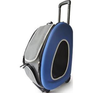Cумка-тележка для собак Ibiyaya PTY, размер 58х30х34см., синий