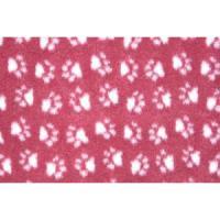 Фотография товара Лежак для собак и кошек ProFleece Ltd, размер 100х160см., бордовый/белый