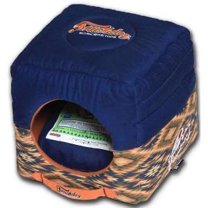 Домик для собак и кошек Katsu Уют S S, размер 30х30х16см., синий