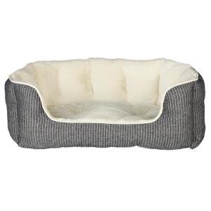 Лежак для собак Trixie Davin, размер 60×45см., серый / кремовый