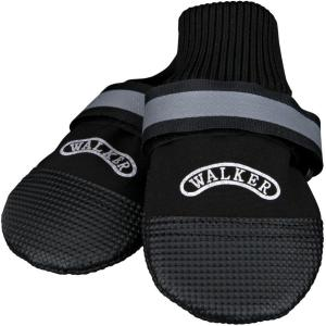 Тапки для собак Trixie Walker Professional XS, чёрный