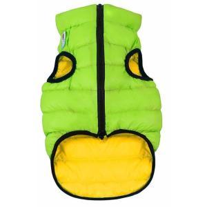 Куртка для собак AiryVest 1583 S, салатово-желтый