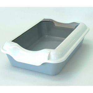 Туалет для кошек Homecat 3519707, размер 37х27х11.5см., серый