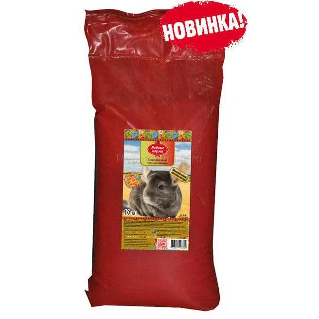 Корм для шиншилл Родные корма Комбикорм, 10 кг - Интернет зоомагазин MyPet-Online.ru