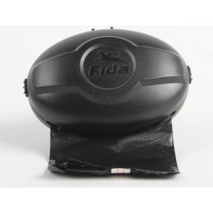 Бокс для поводка-рулетки Fida Mars M, черный