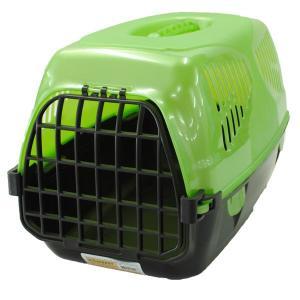 Переноска для собак и кошек Homepet Путешественник, размер 50х33х35см., зеленый