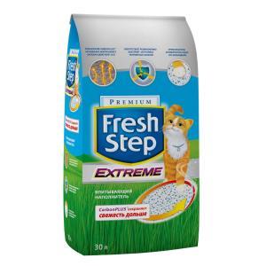 Наполнитель для кошачьего туалета Fresh Step Premium, 15.8 кг, 30 л