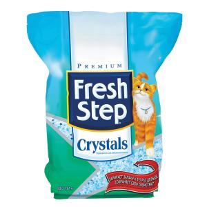 Наполнитель для кошачьего туалета Fresh Step Crystals, 1.81 кг