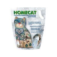 Фотография товара Наполнитель для кошачьих туалетов Homecat Морозная свежесть, 3.5 кг