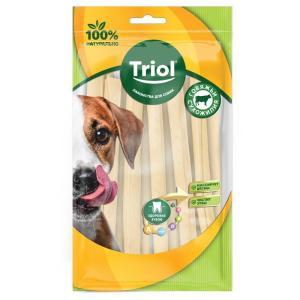 Лакомства для собак Triol, 20 г, сыромятная кожа, 8 шт.
