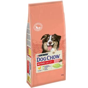 Корм для собак Purina Dog Chow Active, 14 кг, курица