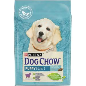 Корм для щенков Purina Dog Chow Puppy Junior, 2.5 кг, ягненок с рисом
