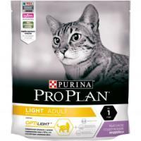 Фотография товара Корм для кошек Pro Plan Light, 400 г, индейка с рисом