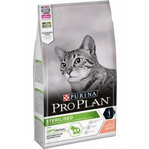 Корм для кошек Pro Plan Sterilised, 1.5 кг, лосось