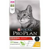 Фотография товара Корм для кошек Pro Plan Adult, 3 кг, курица